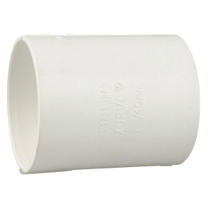 Osma Waste Solvent Weld Waste System Double Socket White  50mm