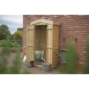 Shiplap Apex Tall Garden Store - Pressure Treated