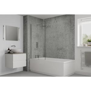 Multipanel Classic Bathroom Wall Panel Unlipped Arctic Stone 3331
