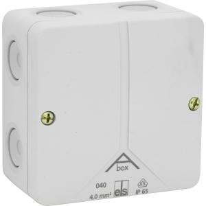 Ced Moulded PVC Box IP65 80 x 80 x 50mm