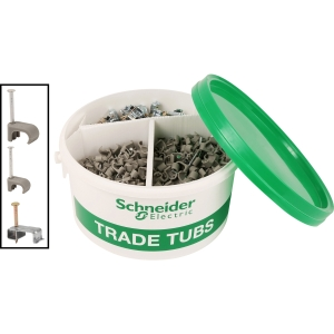 Schneider Electric ISM99990 18TH Edition Twin & Earth Fixings Trade Tub