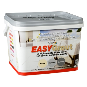 Easygrout Light Grey 15kg Porcelain Jointing Grout