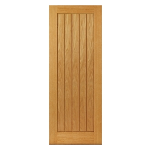 Internal Oak Internal Prefinished Suffolk Door 1981 x 686 x 35mm 27 in