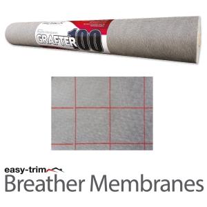 Easy Trim Grafter Breather Membrane 50m X 1m