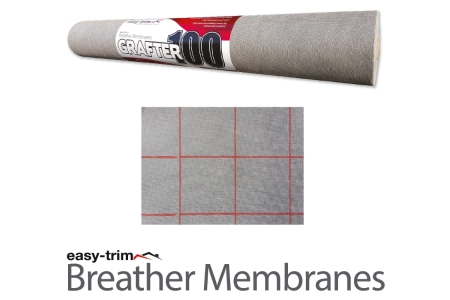 Easy Trim Grafter Breather Membrane 50m X 1m