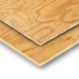 "Softwood Shuttering, Sheathing, CDX Plywood 2440mm x 1220mm"""