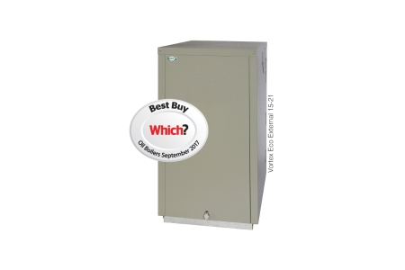 Grant Vortex Eco Outdoor 15-21kW Heat Only Oil Boiler