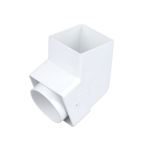 Osma SquareLine 4T826 Offset Bend Spigot 61mm White