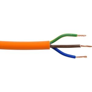 Pitacs 3 Core Flex Orange Cable 3183Y 0.75mm2 x 25m Drum