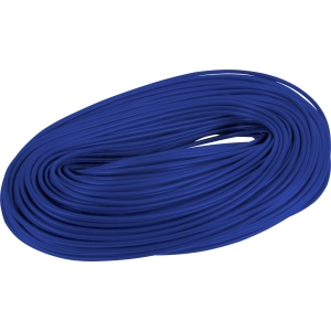 PVC Cable Sleeving 100m 3mm Blue