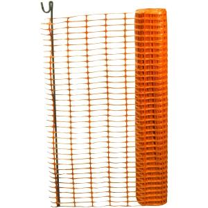 Bruce Douglas 0950-ORANGE-5kg Orange Safety Fencing 1m x 50m
