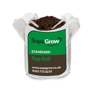 SupaGrow Standard Topsoil Bulk Bag 600L