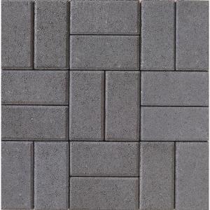 Tobermore Pedesta Charcoal Block Paving - 200x100x60mm