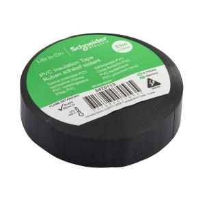 Schneider 2420113 PVC Tape Black 19 x 33m