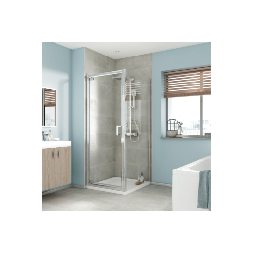 iflo Edessa Shower Enclosure Side Panel 900mm