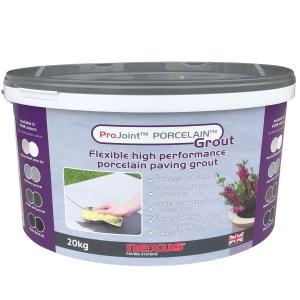 Projoint Porcelain Paving Grout Mid Grey 20kg PG20g