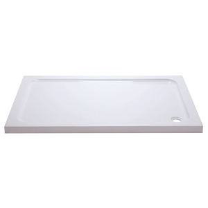 iflo Abs Capped Slimline Stone Shower Tray 1000mm x 800 mm