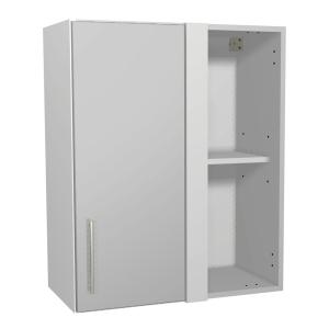 Orlando Gloss Grey Kitchen 600mm Corner Wall Unit