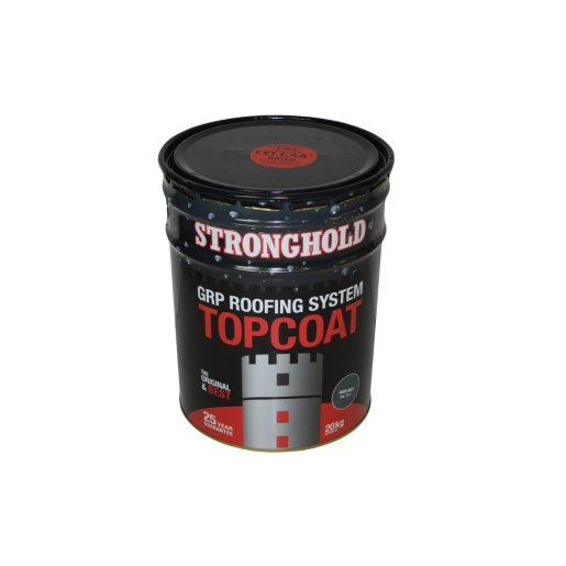 Stronghold Grp Fibreglass Premium Top Coat 20kg Dark Grey