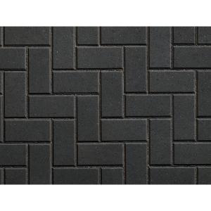 Plaspave 50 Concrete Block Paving Charcoal 200 x 100 x 50mm - Pack Coverage 1m2