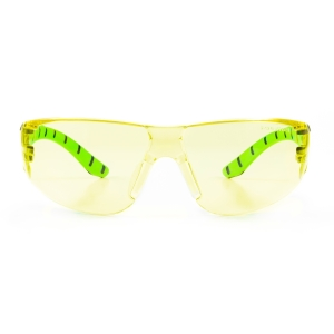 Armour Up Wraparound Safety Glasses Amber Lens