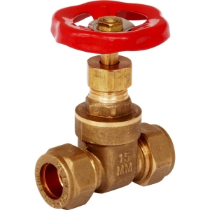 28mm CSC Gate Valve Brass