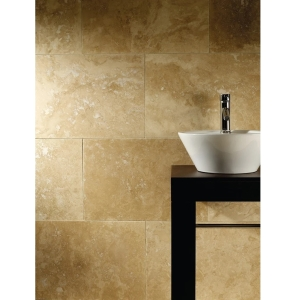 4Trade Travertine Tile 610 x 406 x 12mm TRAVTST02