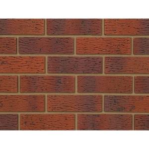 Ibstock Brick Anglian Red Multi Rustic 73mm - Pack Of 292