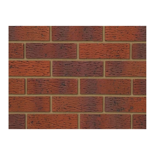 Ibstock Brick Anglian Red Multi Rustic 73mm - Pack Of 292