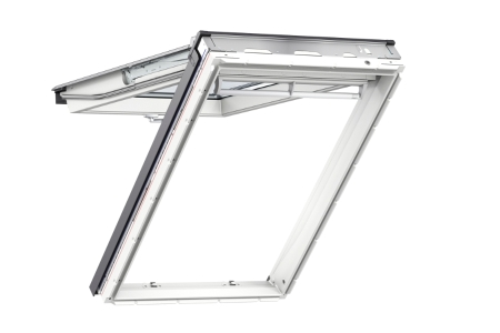 VELUX Top Hung Roof Window White Polyurethane 550mm x 1180mm GPU CK06 0070