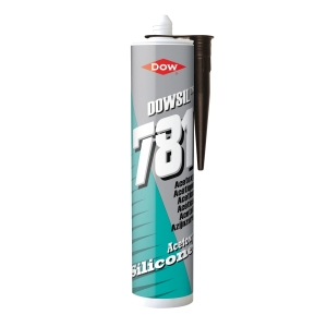 Dow Corning 781 Silicone Glazing Sealant Brown 310ml