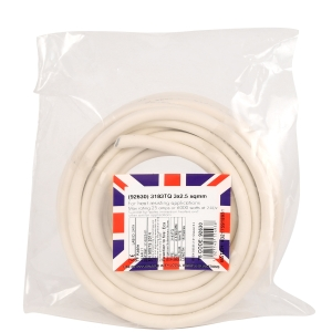 Doncaster Cables Immersion Heater Cable 3183TQ 2.5mm2 x 15m Coil