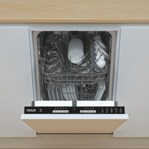 Neue Ndih 1L949-80 Slimline Integrated Dishwasher 9 Place Settings 45cm