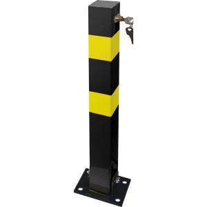 Streetwize Accessories SWWL6 Heavy Duty Folding Parking Post 700 x 70 x 70mm