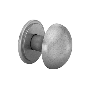 Heritage Knob & Backplate (Antique Pewter Finish) 38mm