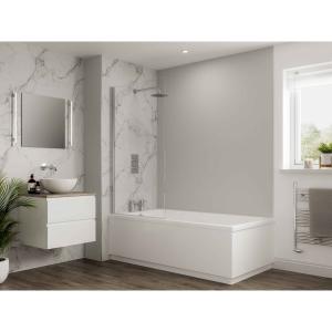 Multipanel Neutrals Bathroom Wall Panel Hydrolock Dove Grey 2001