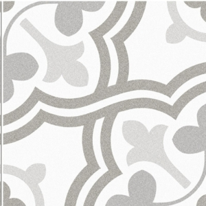 Monica Grey PRE-SCORED Glazed Ceramic Wall and Floor Tile 450 x 450mm Pack of 7