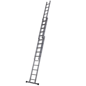 Youngman 3 Section Trade 200 Ladder 3.09m-7.44m