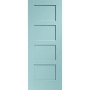Internal Fully Finished Shaker 4 Panel Door (Merlin)
