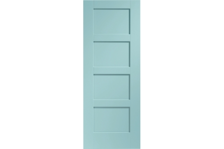 XL Joinery Internal Fully Finished Shaker 4 Panel Door 1981 x 762mm Merlin