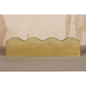 Marshalls Contour Edging Buff 600mm x 150mm x 50mm - Pack of 60