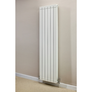 Hanworth Vertical 5 Sections White 1446mm x 428mm