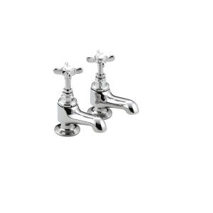 Bristan 1901 1/4 Turn Bath Taps Chrome