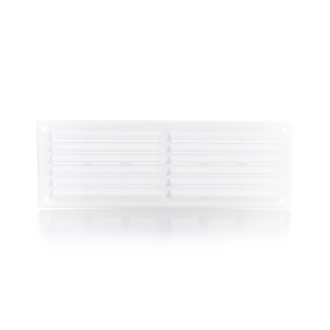 Rytons Building Products Ltd '9 x 3' Louvre Ventilator with Flyscreen - White