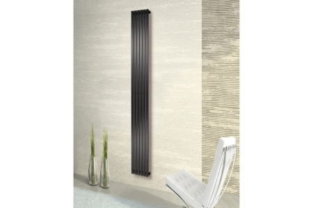 Merlo Vertical Chrome Radiator 1800mm x 604mm