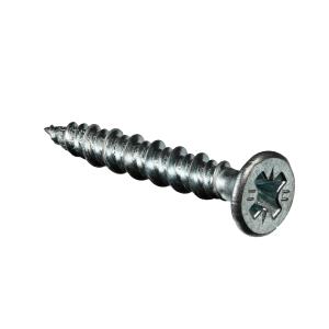 Bullet 4.2mm x 30mm MDF/Chipboard Screws BZP Box 200