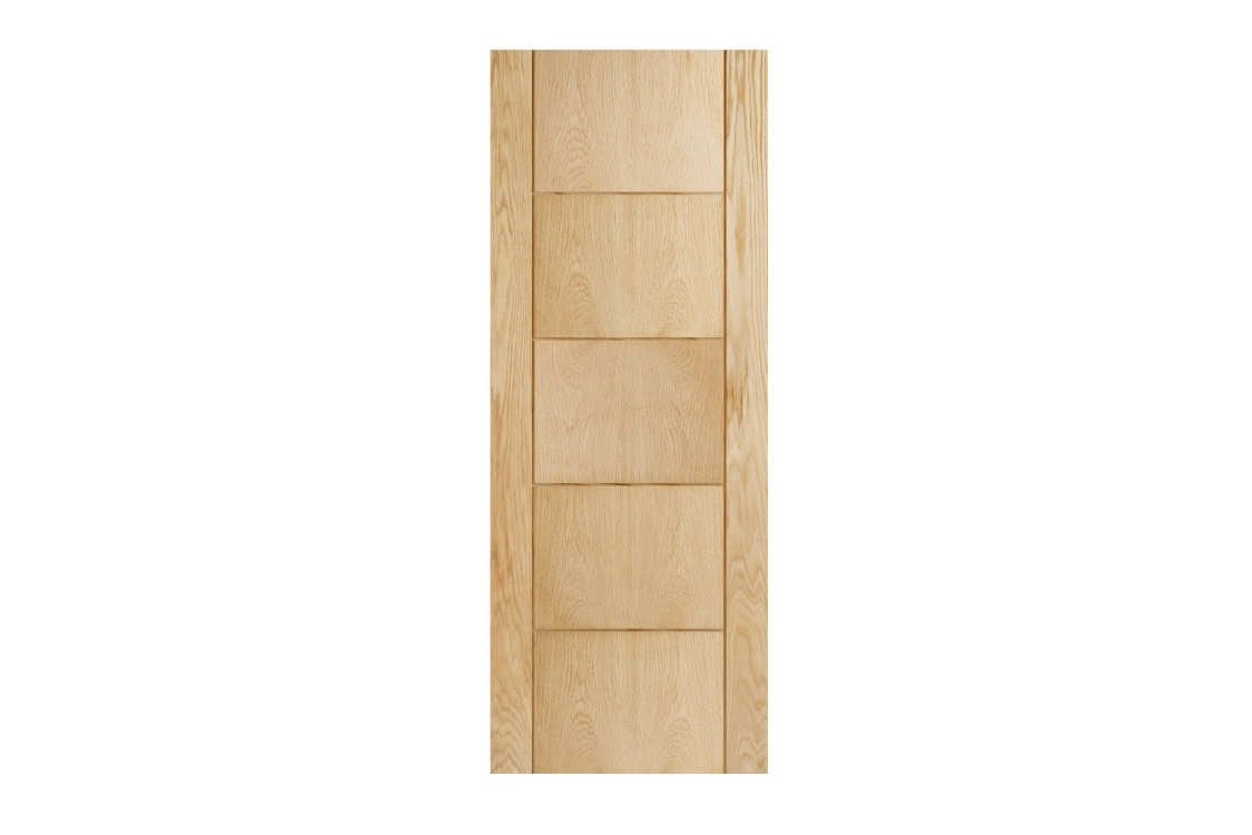 Internal 5 Groove Oak Door 1981 mm x 762 mm x 35 mm