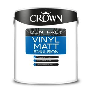 Crown Contract Crown Vinyl Matt Brilliant White 2.5L