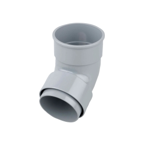 Osma RoundLine 0T025 Offset Bend Socket 68mm Grey