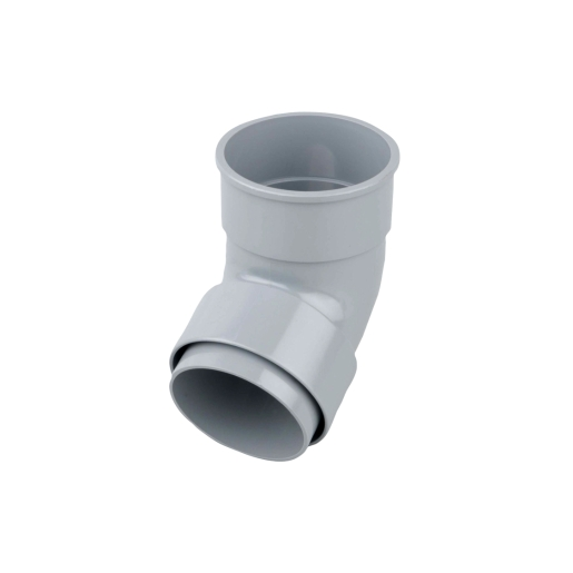 Osma RoundLine 0T025 Offset Bend Socket 68mm Grey